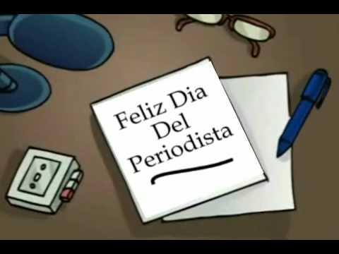 Feliz Dia Del Periodista