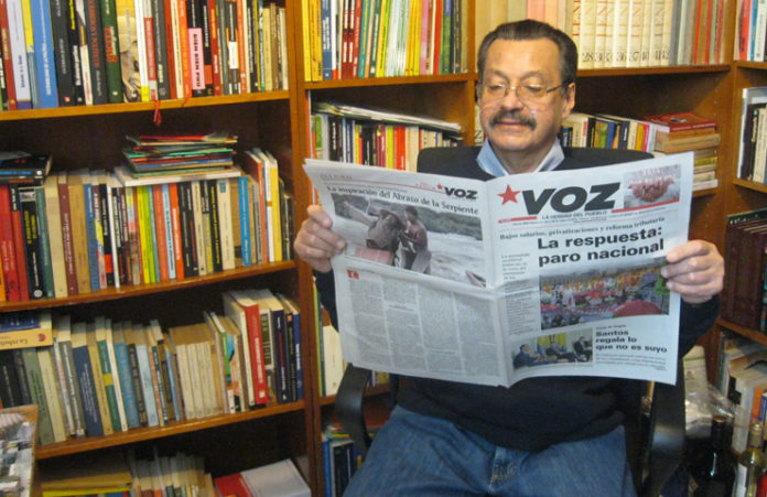 Carlos Lozano. Foto: Voz